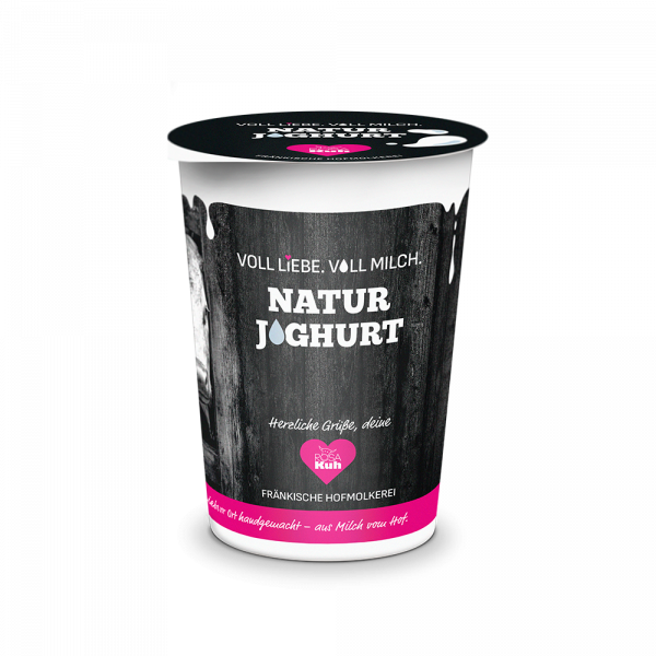 ROSAKuh Naturjoghurt