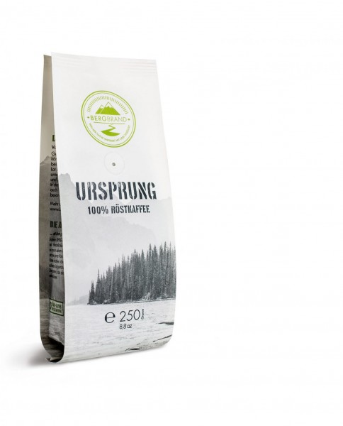 Bergbrand Espresso Ursprung (ganze Bohnen)