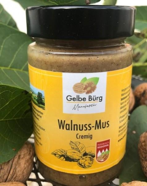 Walnuss-Mus cremig
