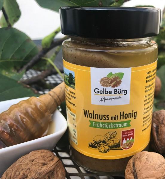 Walnuss-Mus mit Honig